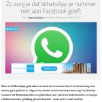 WhatsApp- Facebook